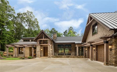 Innovative Ls3P convention Atlanta Rustic Exterior Innovative Designs with cable railing lake
