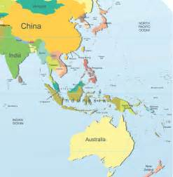 Map Of Asia Pacific by Asia Pacific Map