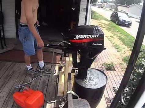 mercury boat motor water pump mercury 9 9 boat motor with new water pump youtube