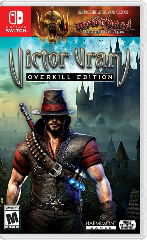 victor vran overkill edition gets may 30 release date new motorhead infused trailer victor vran overkill edition release date switch pc