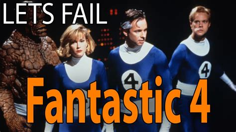 epic film fail fantastic four lets fail the fantastic four 1994 everything wrong