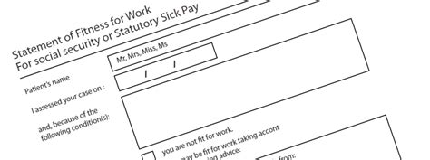 fake gp sick note forged gp sick note claim statutory