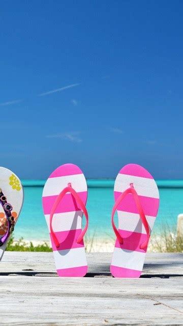 beach flip flops wallpapers desktop background