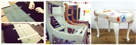 upholstery course london craft classes in london sewing upcycling furniture