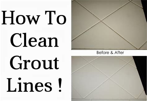 how to clean how to clean grout lines diy craft projects