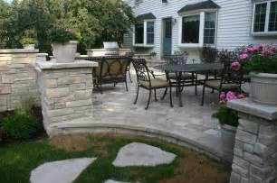 exterior stone for backyard projects traditional patio