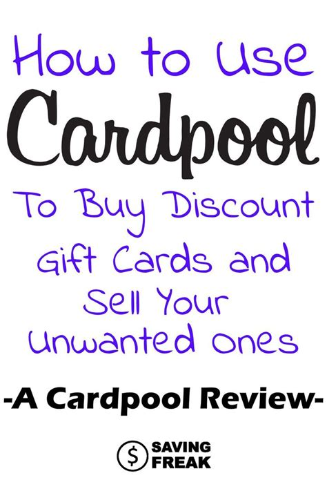 How To Sell Unused Gift Cards - 1000 ideas about discount gift cards on pinterest sell gift cards gift card store