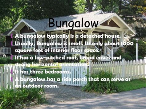 Bungalow House Definition different kinds of houses around the world