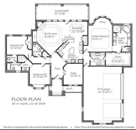texas house floor plans texas house plans