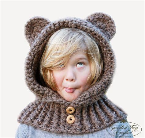 hooded cowl pattern knit speckled frog crochet crochet hooded cowl pattern