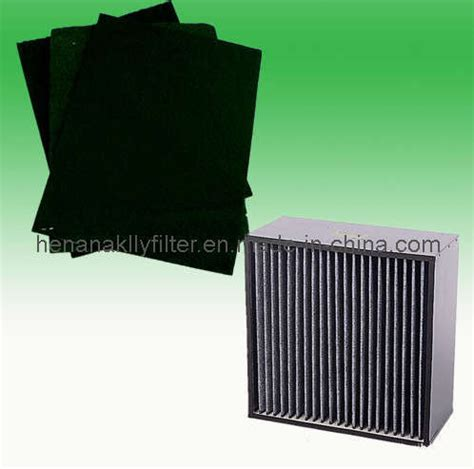 activated carbon filter media and air filter china air filter activated carbon filter media