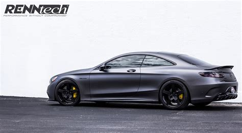 Mercedes C43 Tieferlegung by Renntech S 63 Amg Coup 233 Matte Black Mbworld Org Forums