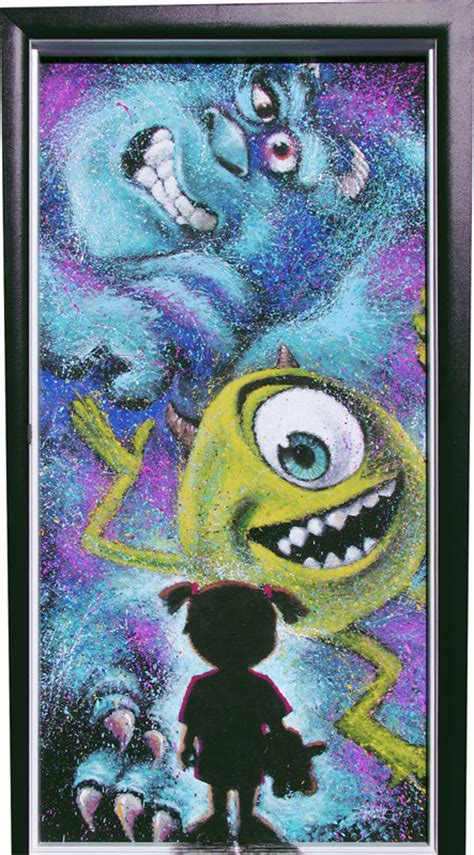 Monsters Inc Closet by Door Wall And Bulletin Board Decorations On