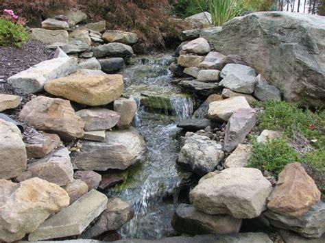 rock waterfalls for gardens rock waterfalls for landscaping rock ponds http