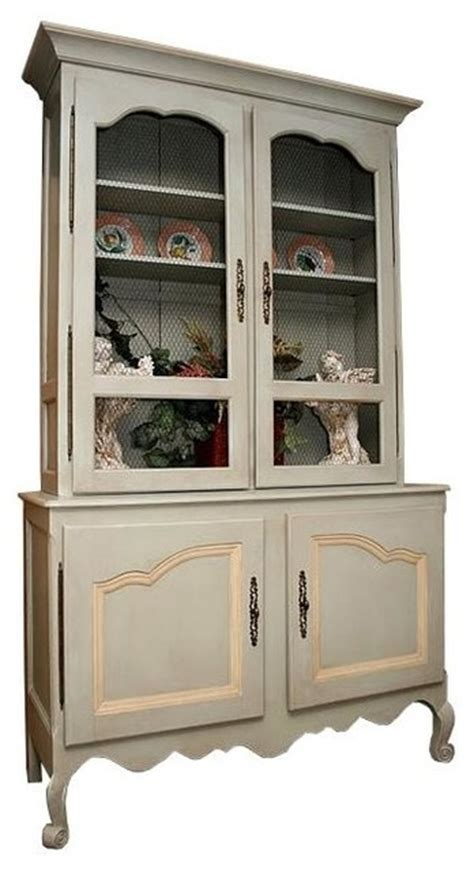 China Storage Cabinets by Country Scalloped China Cabinet China