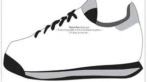 Flash Cards Science Terry Fox Sneaker Activity Primary French Imm
