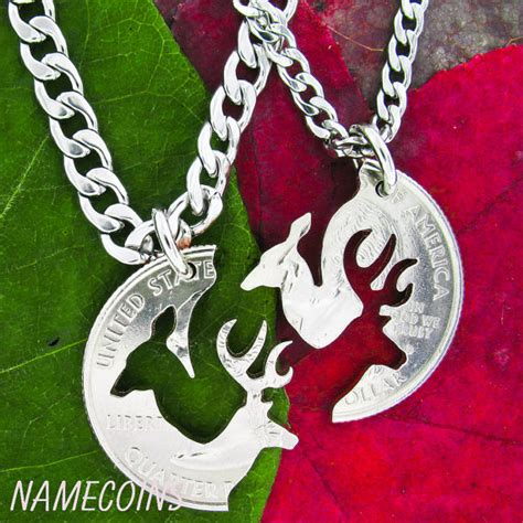 buck and doe necklace relationship with by namecoins