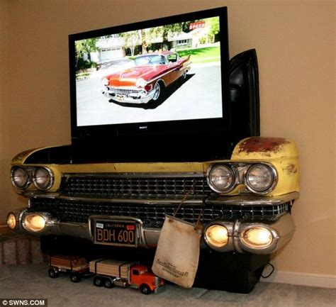 Classic Car Home Decor by Creative Designer Converts Classic Cars Into Furniture For