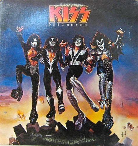 ncb cover design kiss 1970s album and kiss on pinterest