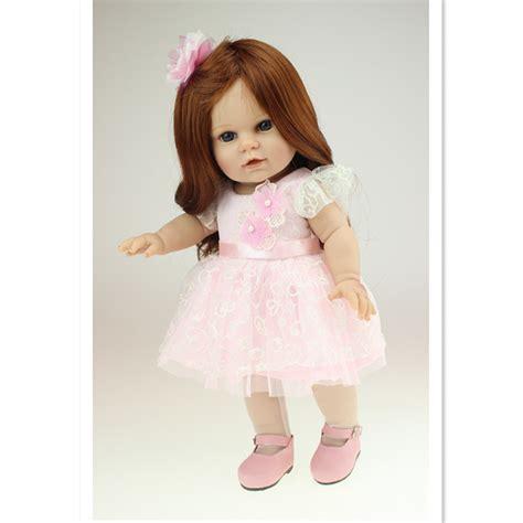 18 inch doll vivid american dolls princess doll with pink dress 18