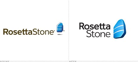 rosetta stone logo brand new the b side