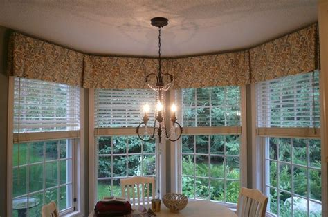 Neutral Curtains Window Treatments Designs Valances For Kitchen Windows Bay Window Valance Kitchen Judy Windows Kitchen