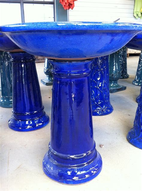 cobalt bird bath from ellis home and garden birdbaths