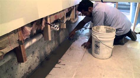 basement waterproofing exterior french drain  internal drainage system island basement