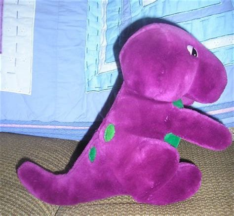 barney backyard gang doll ultra rare original barney the backyard gang dakin lyons dinosaur plush doll