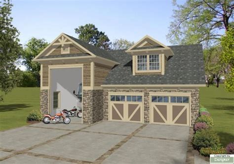garage plans with living area boat rv garage 3068 1 bedroom and 1 5 baths the house