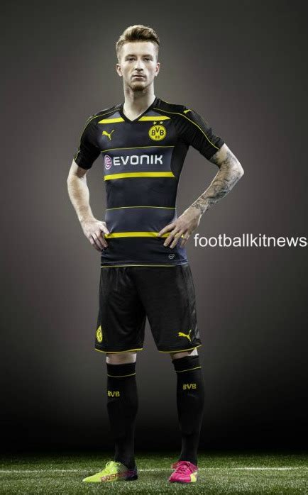 Jersey Dortmund Away 2016 2017 new borussia dortmund away shirt 2016 2017 bvb alternate