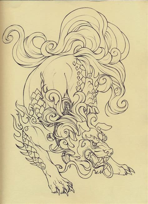 foo dog tattoo designs best 25 foo ideas on foo foo