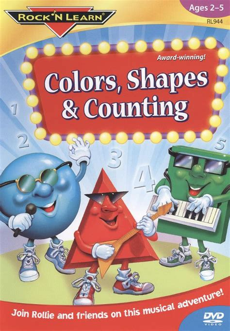 rock n learn colors shapes and counting rock n learn colors shapes counting dvd best buy