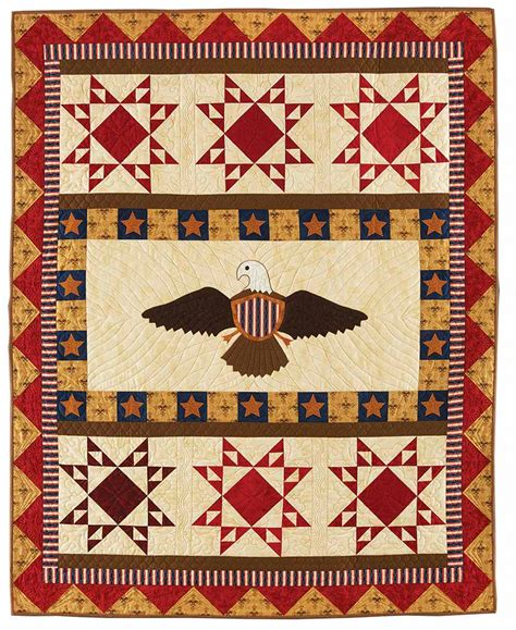 quilt pattern eagle eagle scout quilt fons porter the quilting company