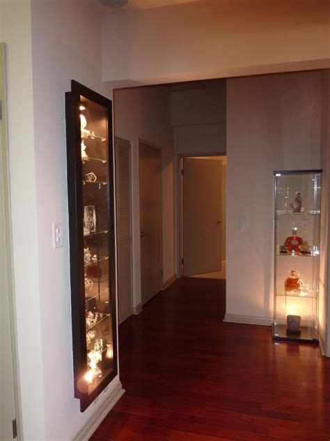 a recessed bertby display cabinet ikea hackers ikea