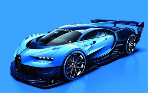 bugatti concept spectacular bugatti vision gran turismo concept revealed