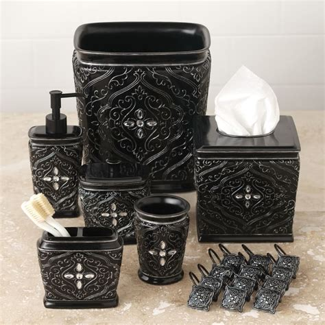 Bathroom Decor Dark And Monster Pinterest Decorative Accessories For Bathrooms