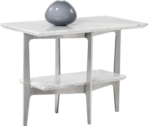 white marble end table clearwater white marble end table 101311 sunpan modern home