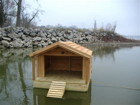 How To Build A Duck House by Custom Floating Duck Houses Custom Ac Heated Insulated
