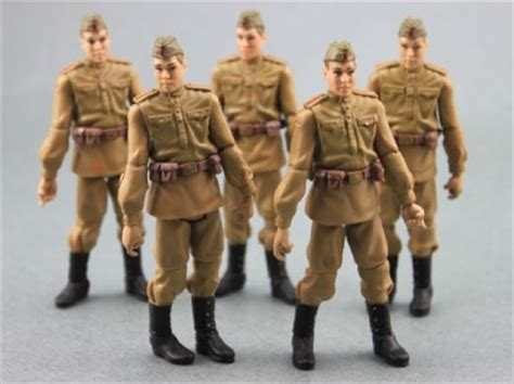 Lot 10pcs Indiana Jones Russian Soldier Troopers Collect Figure With A lot 6 indiana jones russian soldiers troopers series