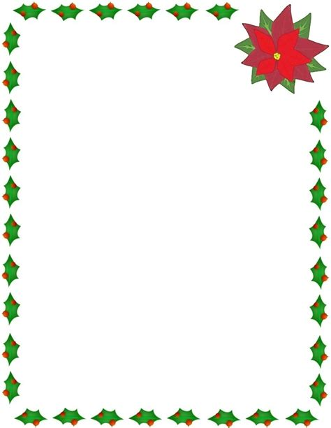 christmas bordered paper new calendar template site
