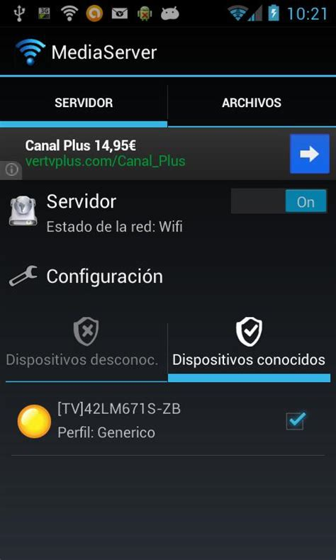 media server for android media server android apps on play