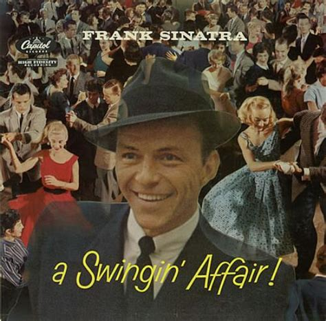 a swinging affair frank sinatra a swingin affair grey label usa vinyl lp