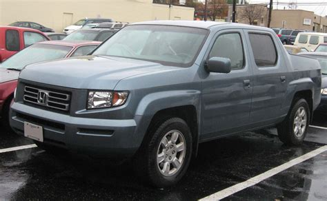 honda truck 2007 2007 honda ridgeline pictures information and specs