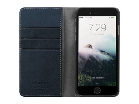 Iphone 7 8 Plus Nomad Horween Leather nomad horween leather iphone 7 plus folio wallet