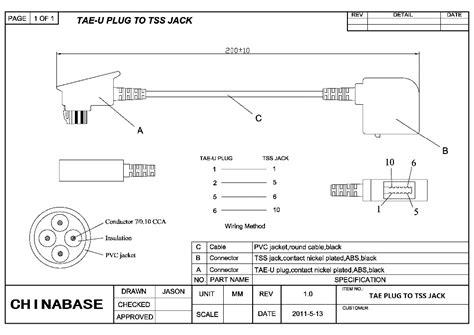 dsl rj11 wiring rj free printable wiring diagrams