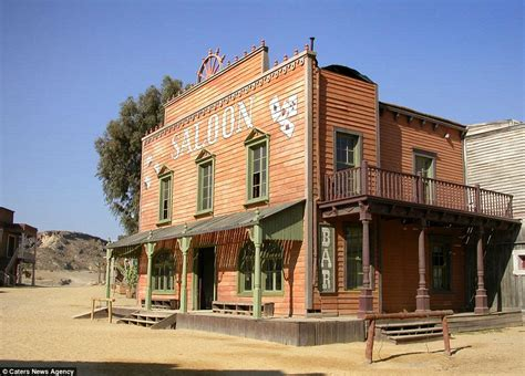 western movie sets in new mexico the the bad and the dusty eerie pictures show former sets used in westerns