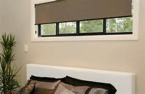 Windows With Curtains And Blinds Roller Blinds Amp Holland Blinds Sydney Blinds