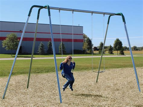 play ground swings 10 foot high heavy duty tripod swing aaa state of play