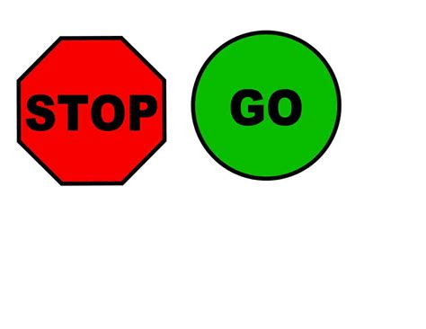 go templates stop sign free traffic signs clipart free clipart graphics